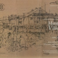 Brochures for Manila Village and Clark Cheniere Markers.